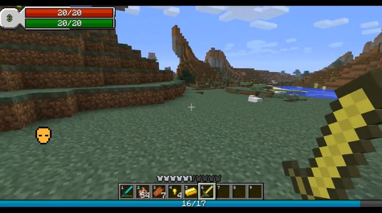 RPG Hud Mod for Minecraft 1