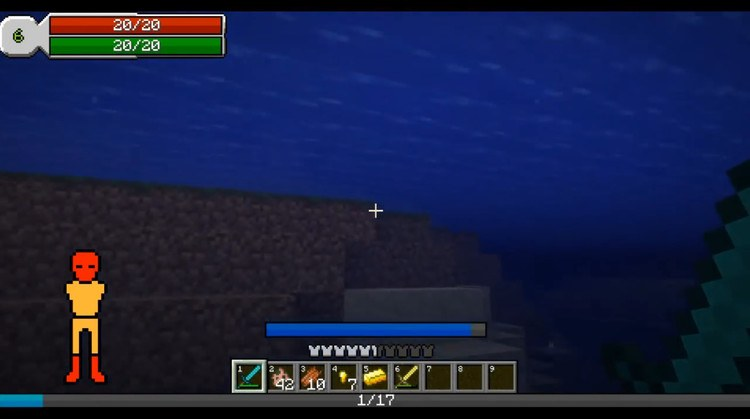 RPG-Hud Mod for Minecraft 2