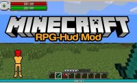RPG-Hud Mod for Minecraft Logo