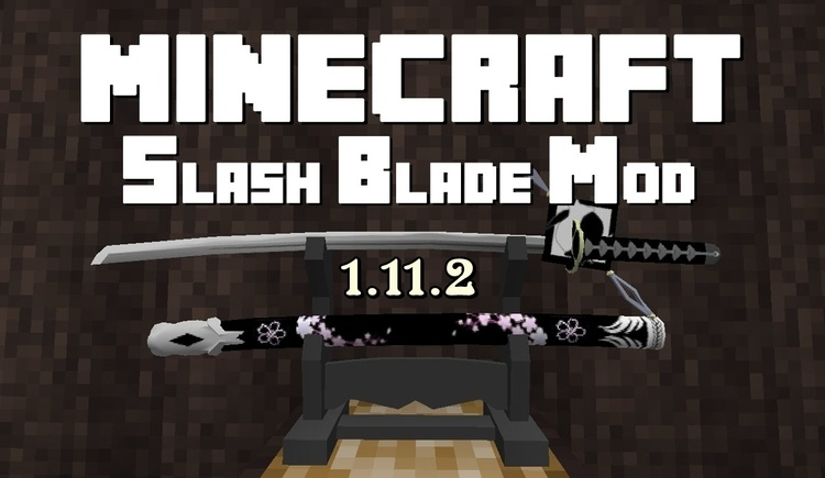 Slash Blade Mod for Minecraft Logo