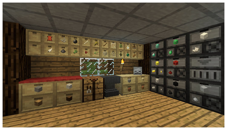 Storage Drawers: Forestry Mod for minecraft 01