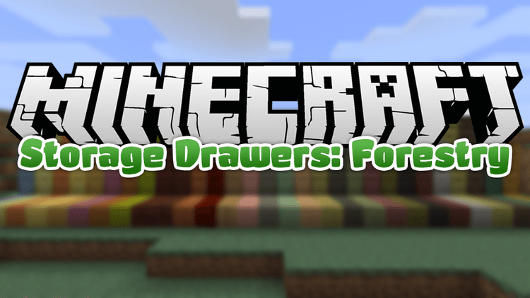 Storage Drawers: Forestry Mod for minecraft logo