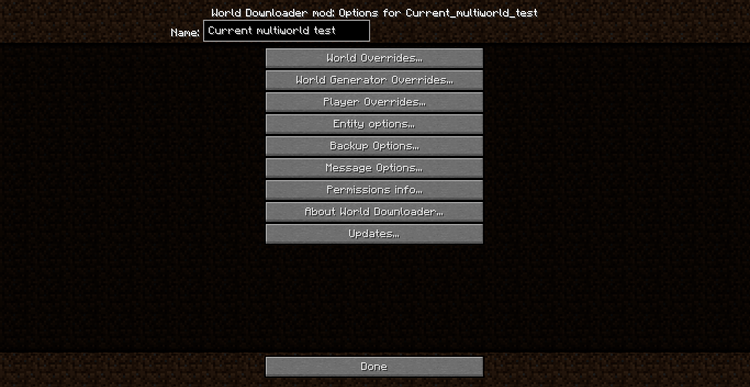 World Downloader Mod for Minecraft 8