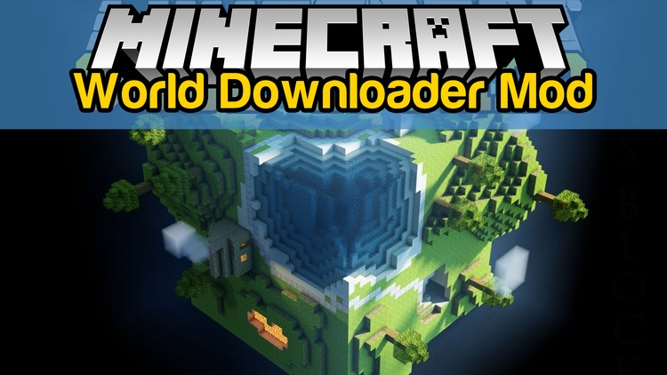 World Downloader Mod for Minecraft Logo