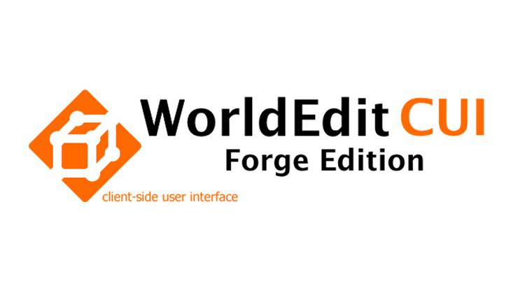 WorldEditCUI Mod 1.11/1.10.2 with Forge for Minecraft Logo
