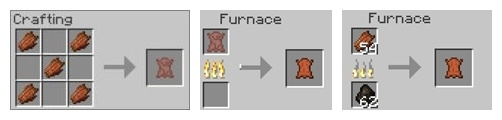 Yet Another Leather Smelting Mod For Minecraft 1