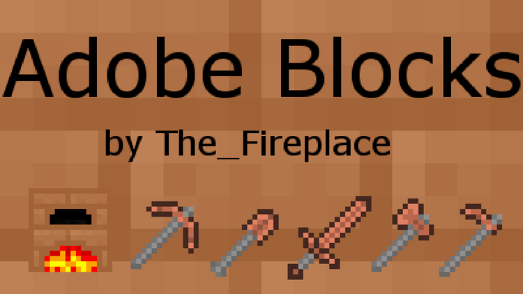 adobe blocks 2 mod for minecraft logo