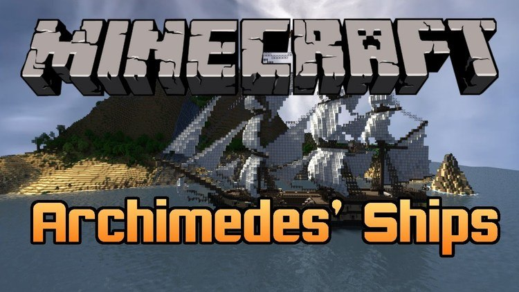 archimedes ships mod for minecraft logo