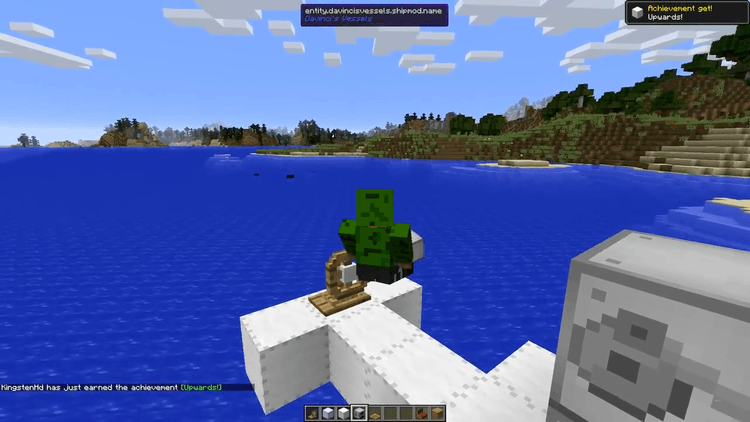 Davinci's Vessels mod for minecraft 02
