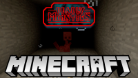 deadly monster mod for minecraft LOGO