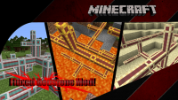 fluxed redstone mod for minecraft logo