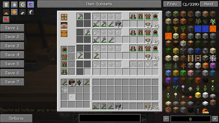 gear swapper mod for minecraft 03