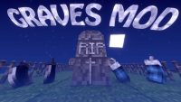 graves mod for minecraft logo