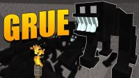 grue mod for minecraft logo