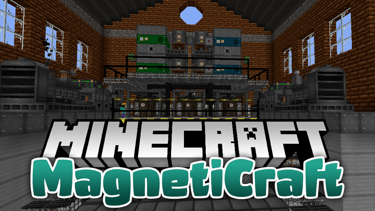 magneticraft mod for minecraft logo