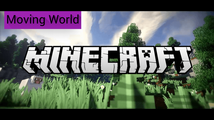 moving world mod for minecraft logo