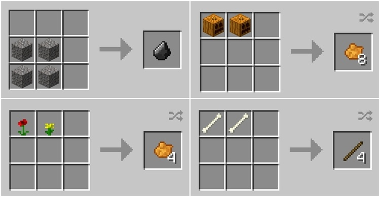 Pam's simple recipes mod for minecraft 02