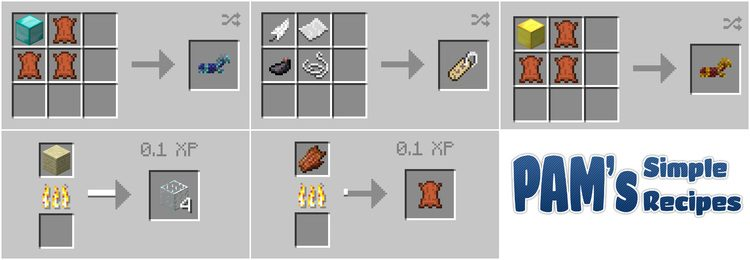 Pam's simple recipes mod for minecraft 04