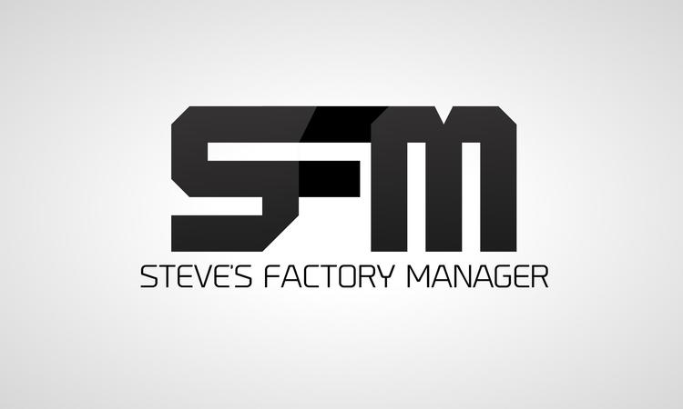 Steve's Factory Manager Reborn mod for minecraft logo