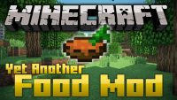 yet another food mod for minecraft logo