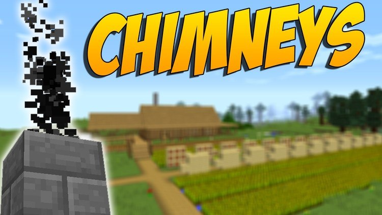 Advanced Chimneys mod for minecraft logo