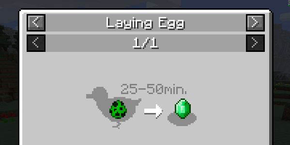 how to make chickens lay eggs minecraft