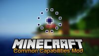 Common Capabilities Mod for Minecraft Logo