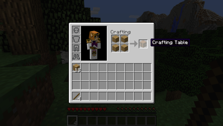 Inventory Sorter mod for minecraft 03