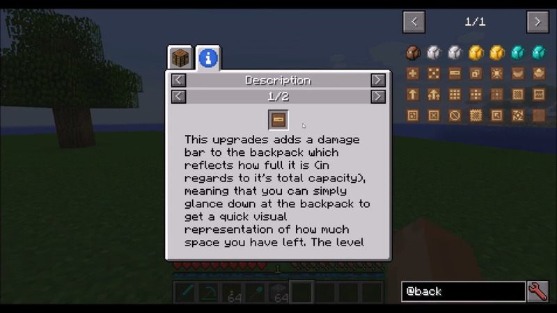 Iron Backpacks Mod Minecraft 4