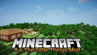 It's The Little Things Mod for Minecraft Logo