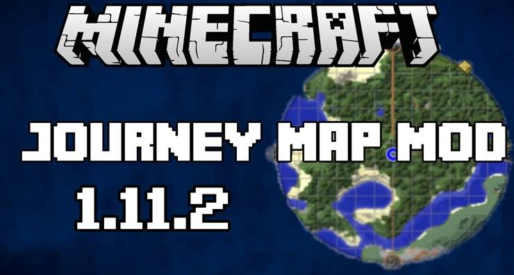 JOURNEY MAP MOD for Minecraft