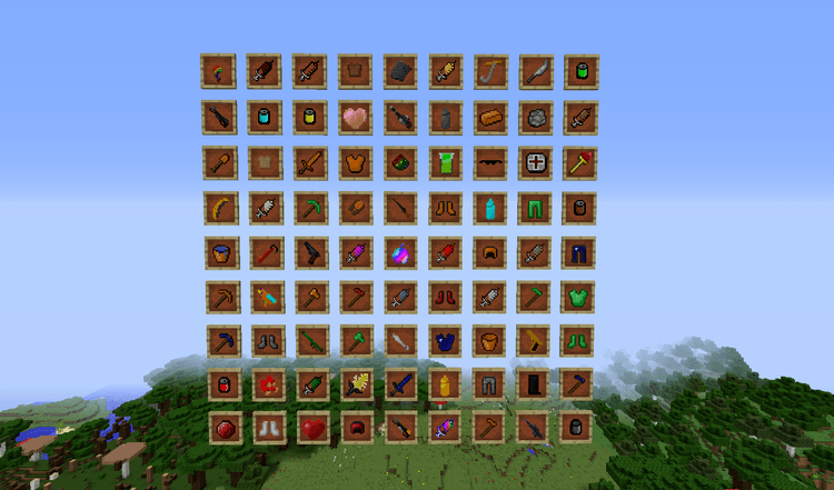 Lots of Things Mod for Minecraft 1