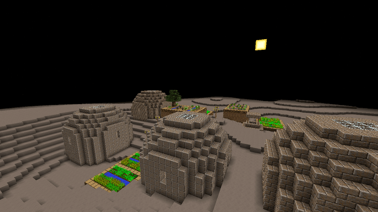 More Planets mod for minecraft 04