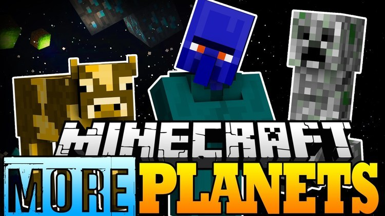 More Planets mod for minecraft logo