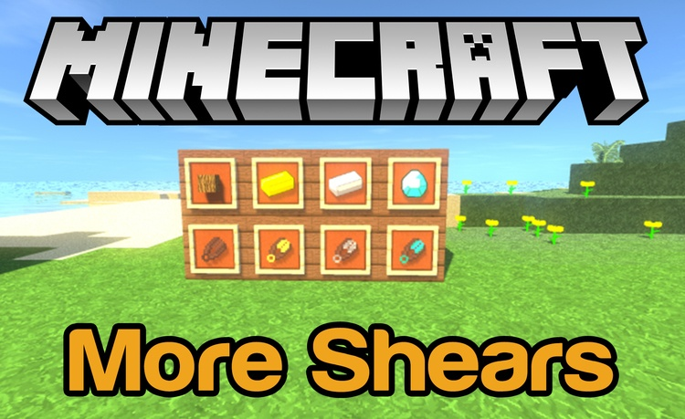 More Shears Mod for Minecraft Logo