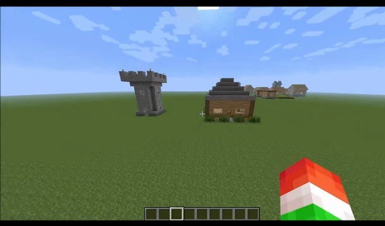 The Instant House Mod for Minecraft 1
