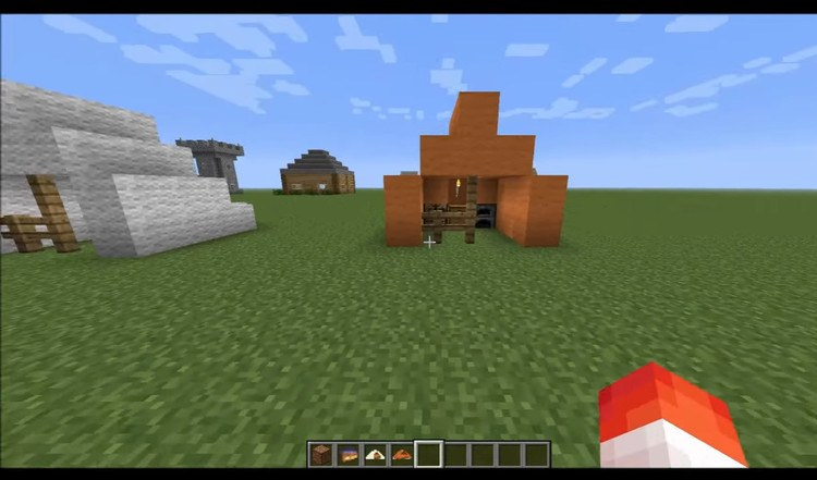 The Instant House Mod for Minecraft 3