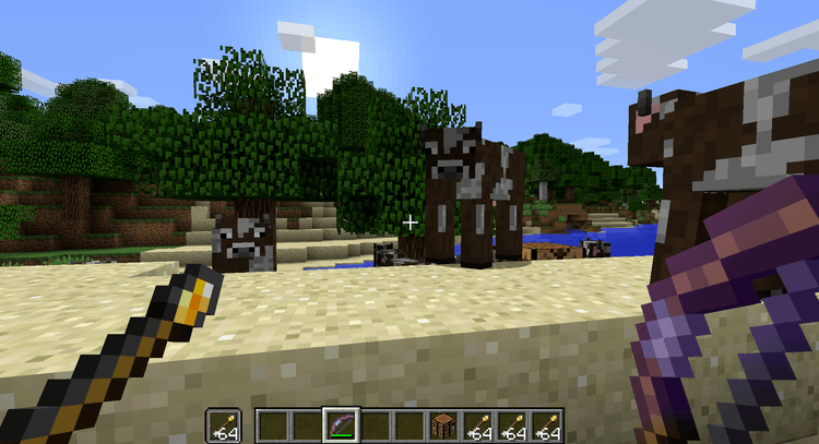 Torch Arrows Mod for Minecraft 3