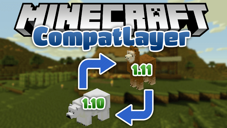 compat layer mod for minecraft logo