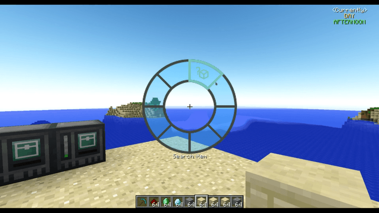 interaction wheel mod for minecraft 02