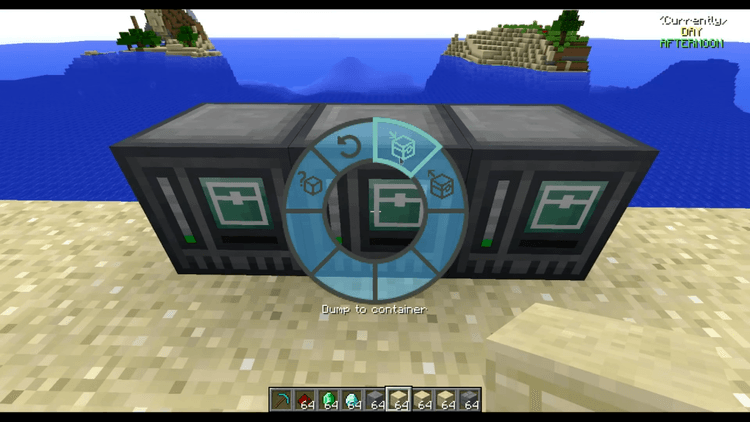 interaction wheel mod for minecraft 04