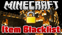 item blacklist mod for minecraft logo