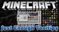 just enough tooltips mod for minecraft logo