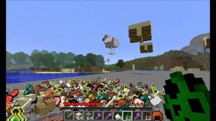 Too Much Loot mod for minecraft 03