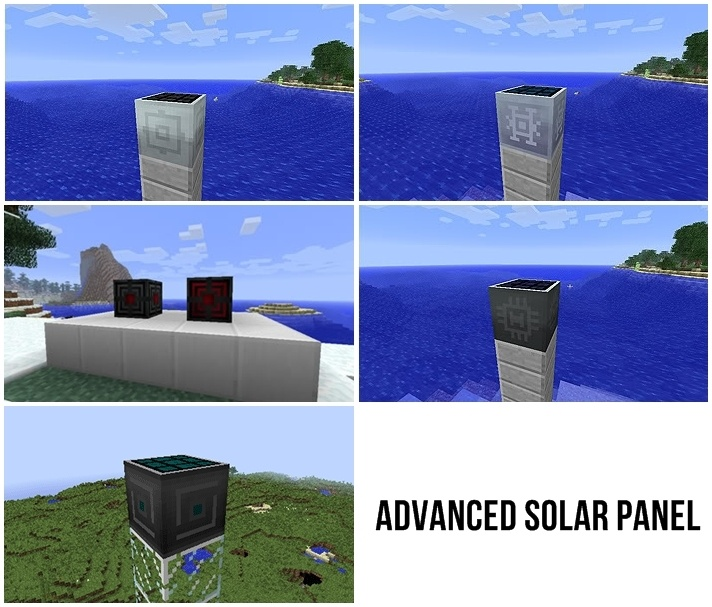 Advanced Solar Panel Mod for Minecraft 1