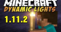 Dynamic Lights Mod for Minecraft