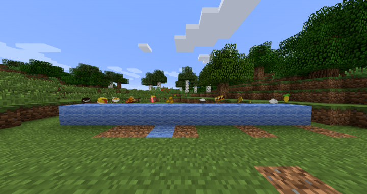 Expanded Food Mod for Minecraft 2