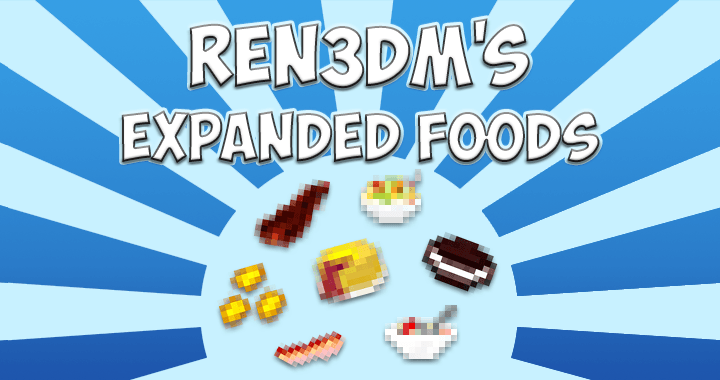 Expanded Food Mod for Minecraft Logo