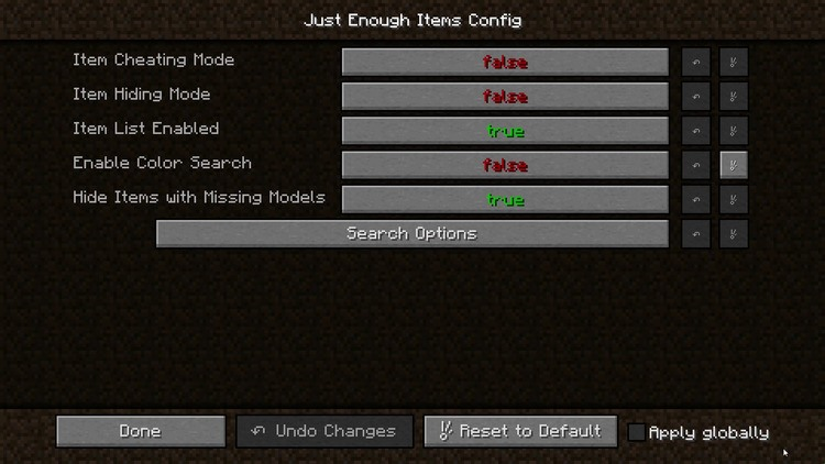 Just Enough Items Mod for Minecraft 6