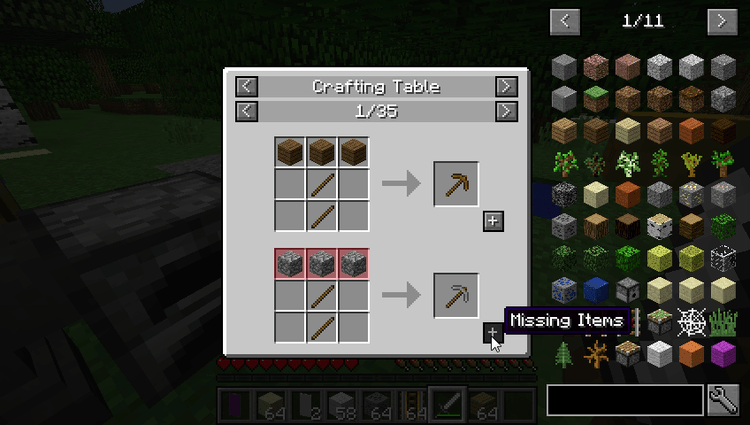 Just Enough Items Mod for Minecraft 7
